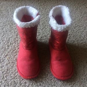 Disney Sequin boots